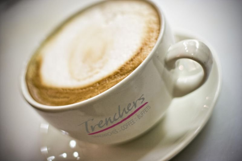 Trenchers Latte