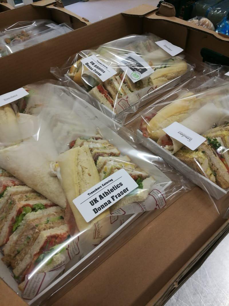 Sandwich platters - buffet