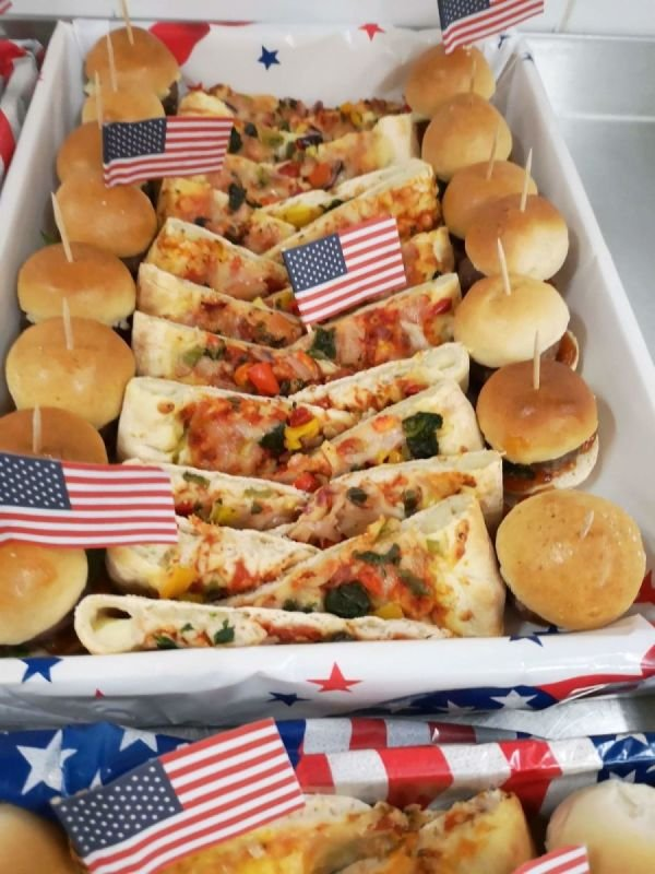 American themed catering