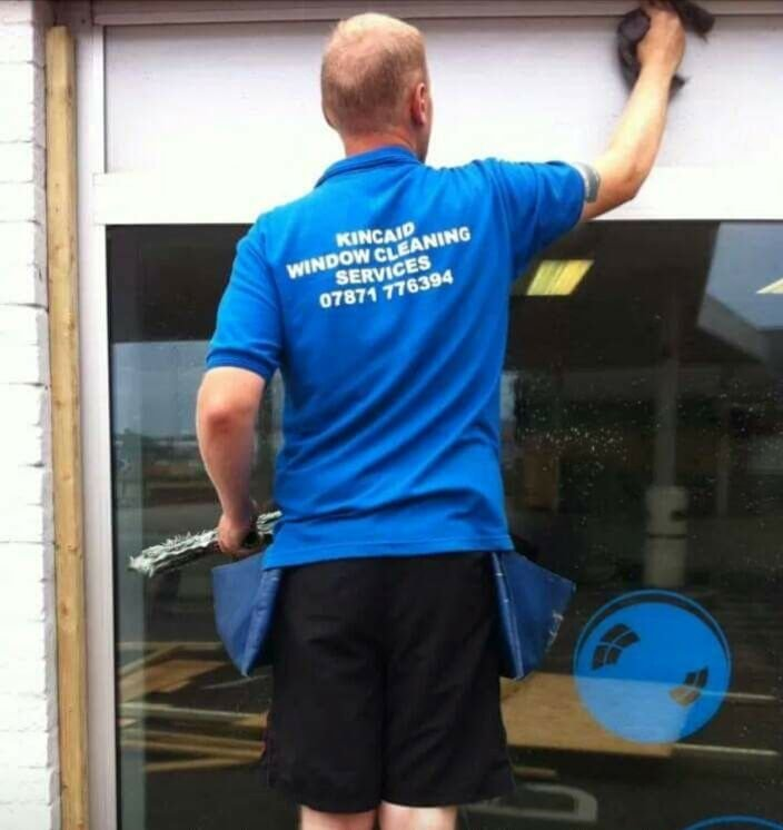 Tom Cleaning Windows in Kessingland and Lowestoft
