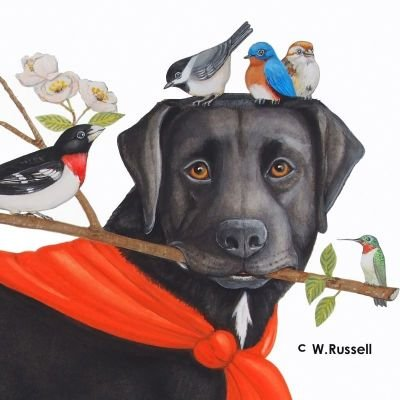 Wendy Russell Art for Licensing