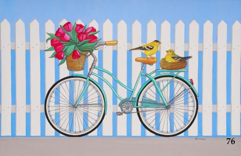 Bicycles and Birds
