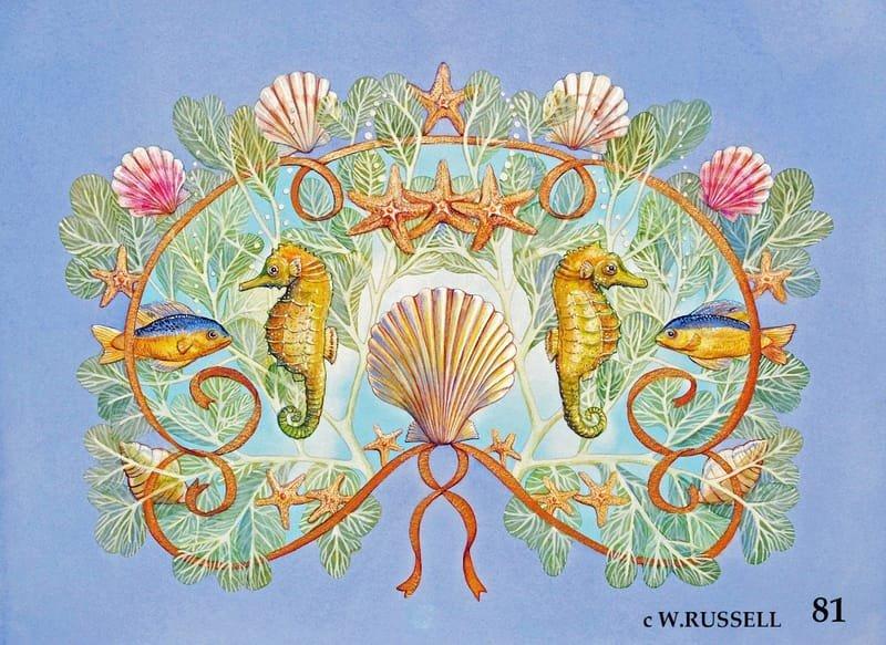 Seashells and Seahorses
