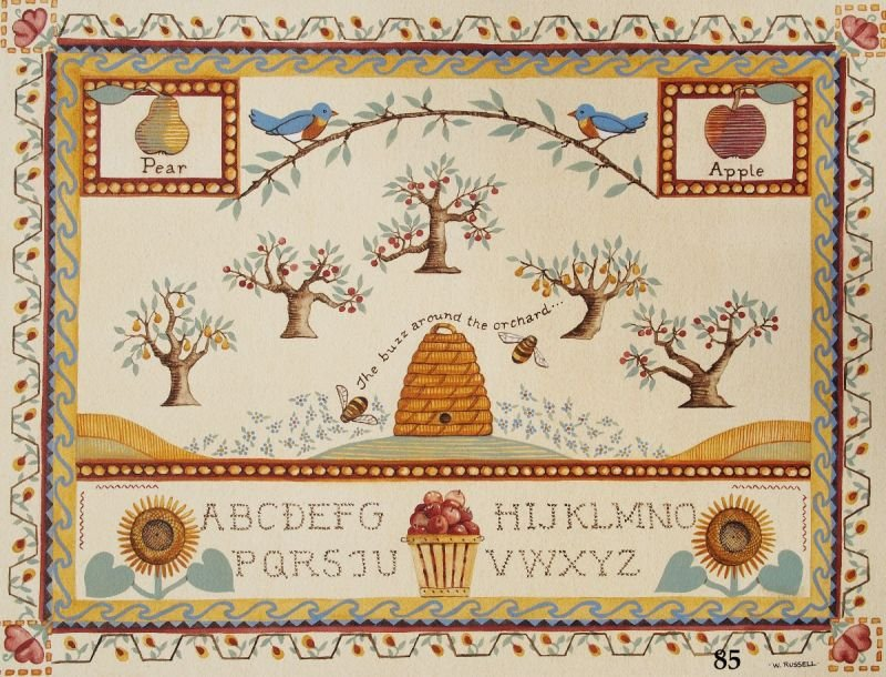 Sampler Orchard Theme