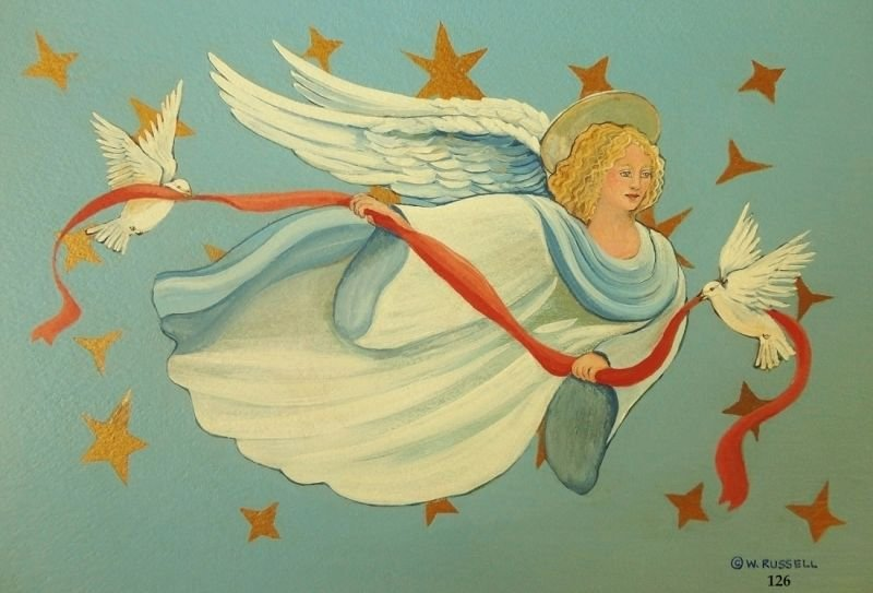 Angel With Light Hair
