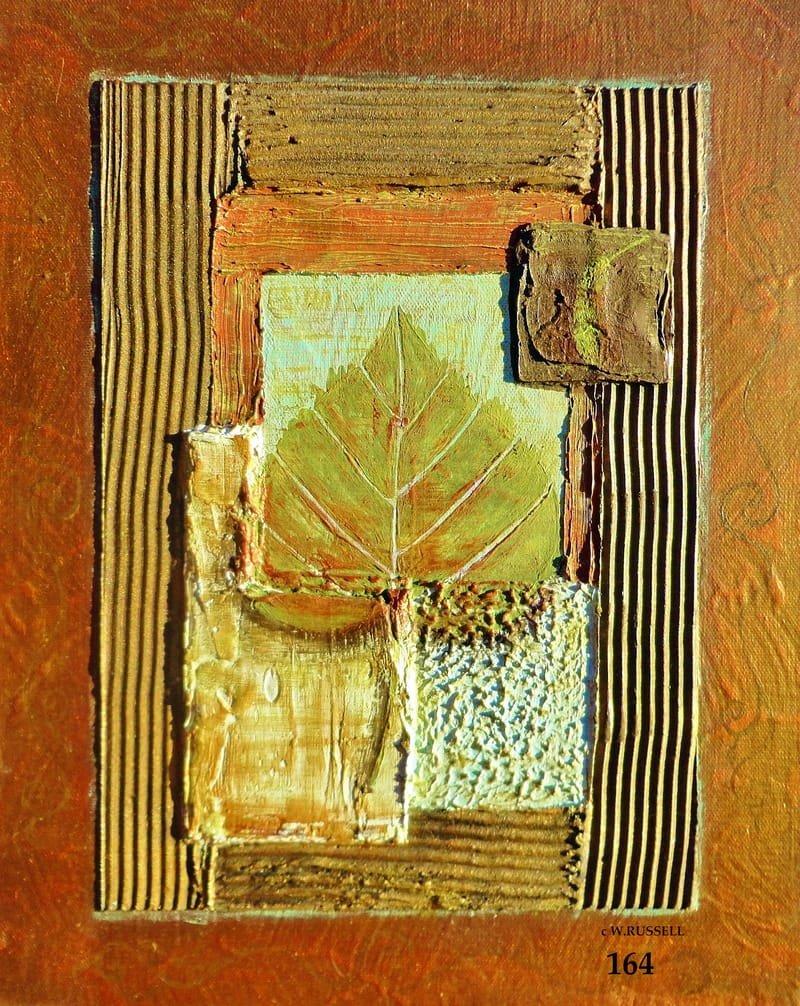Textured Leaves Series 1