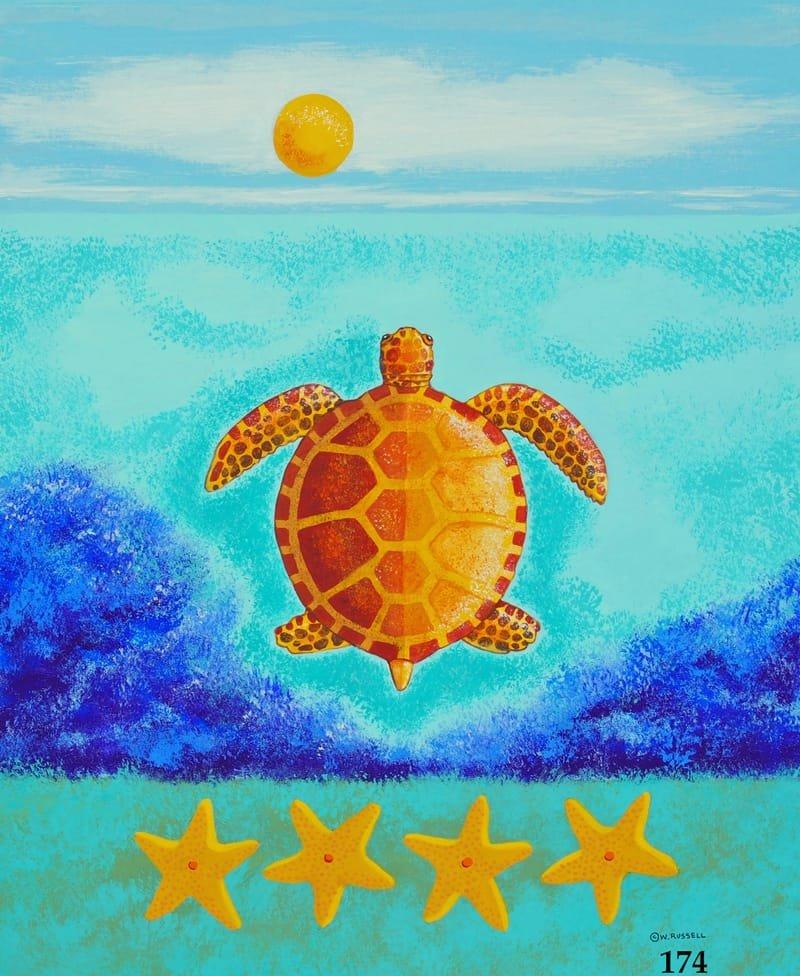 Coastal Series Sea Turtle