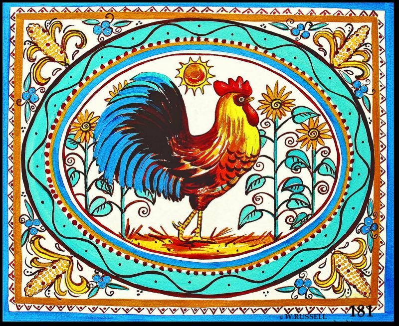 Italian Style Rooster