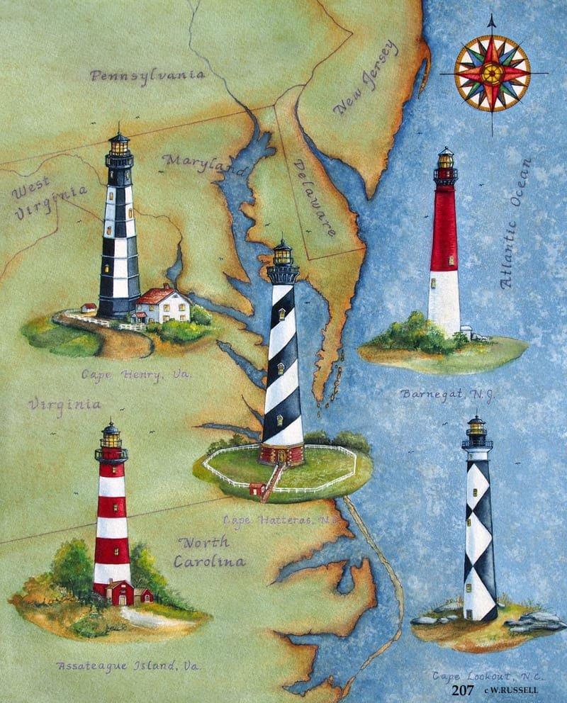 Eastern Lighthouses