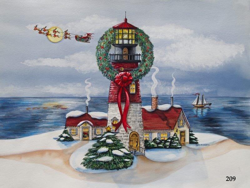 Holiday Lighthouse