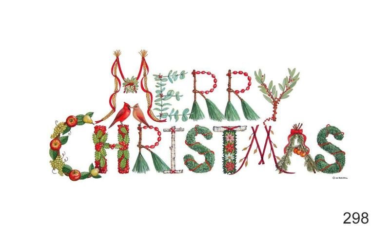 Merry Christmas Holiday Sign