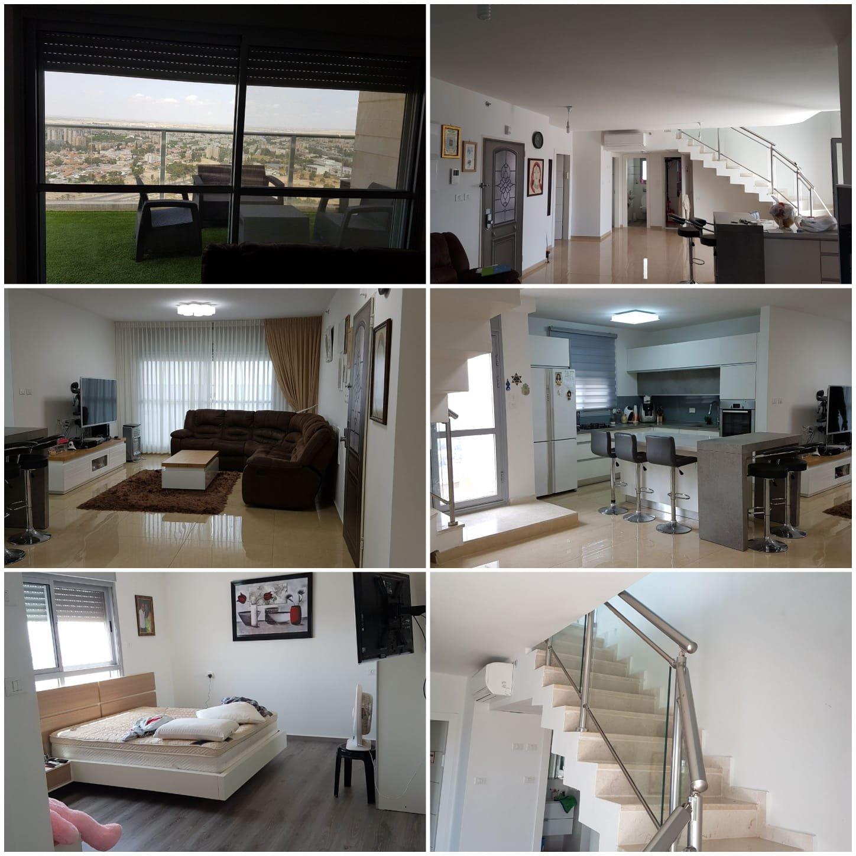 סנסציוני דירות למכירה בבאר שבע: פנטנהוז 5 חדרים - איזי - Easy EY-07