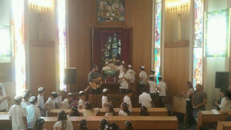 טקס בנות המצווה בית הספר גורדון גבעתיים