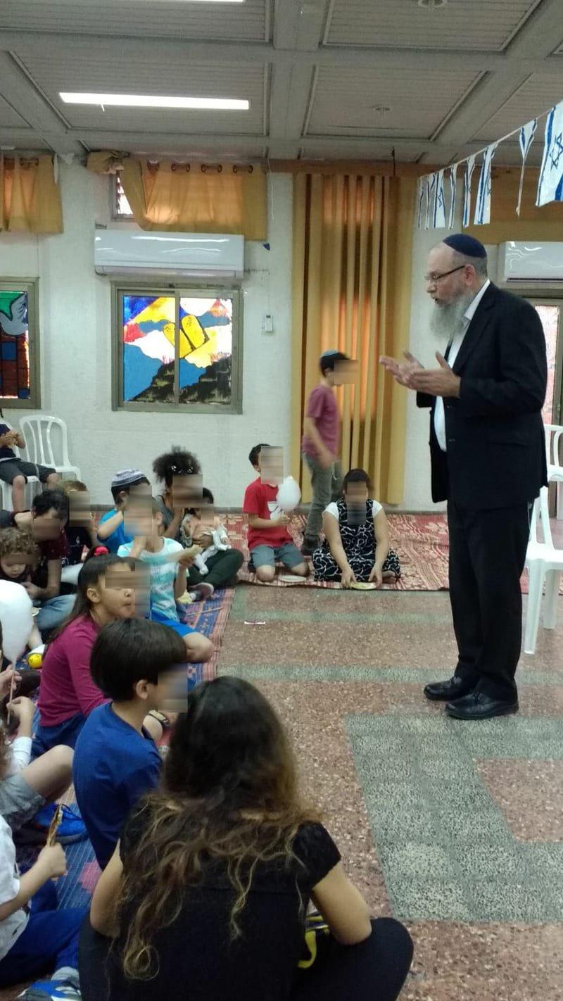"""הפנינג ל""""ג בעומר באולם האירועים של בית הכנסת גבורת מרדכי"""
