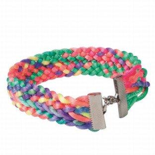 Neon Weave Bracelet