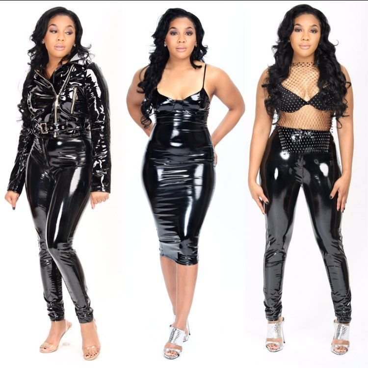 347a4f9ed Kim Kardashian in my opinion has shown us how to rock latex material as a  everyday wardrobe not just for artist and celebrities.