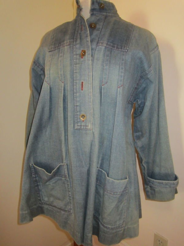 Beth Brett (for Bluestocking), denim jacket (1970s)
