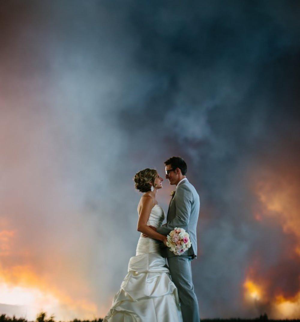 Wildfire Wedding: Wedding Photography