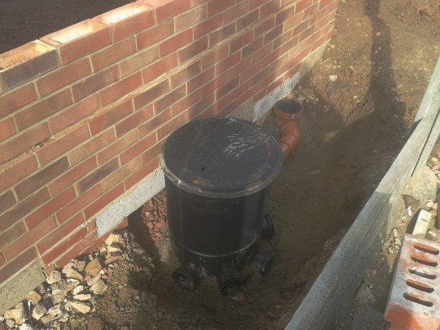 New foul drainage