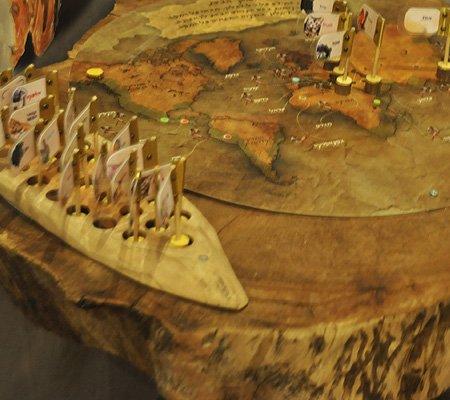 פיתוח עיצוב וביצוע של משחק אקטיבי למרכז מבקרים בנושא האדם הקדמון