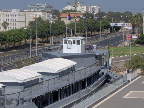 אוניית אף על פי כן מוזיאון העפלה חיל הים