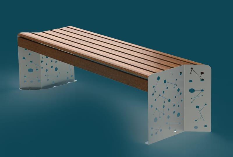 עיצוב ספסל רחוב למטליין