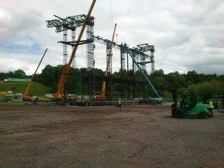 Bon Jovi Build - Slane, Co. Meath