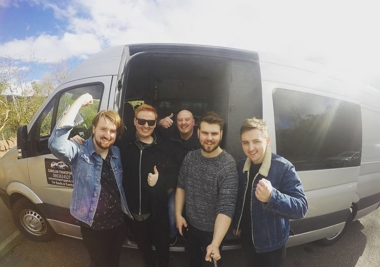 Transport and Roadie For Band - Scottish Tour