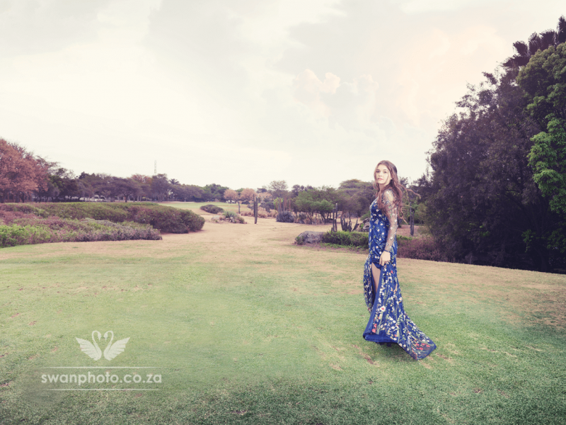 Zoé rocking her Matric Farewell shoot