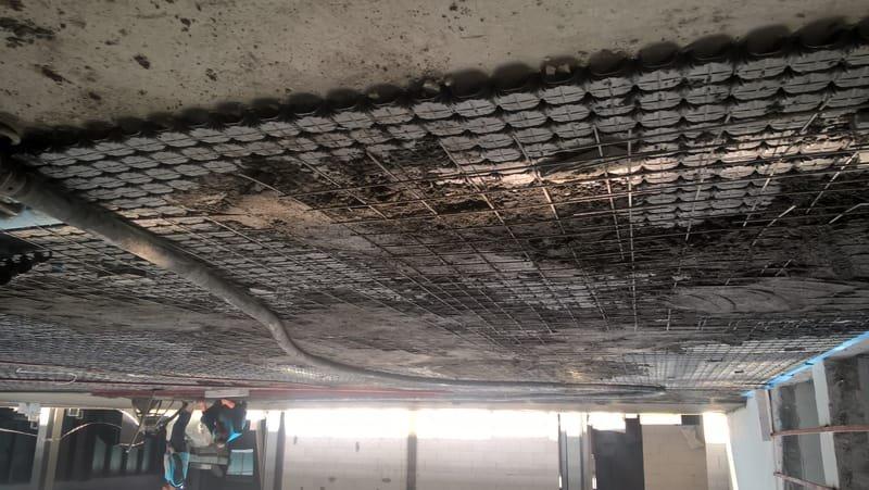 betonarme yükseltilmiş döşeme