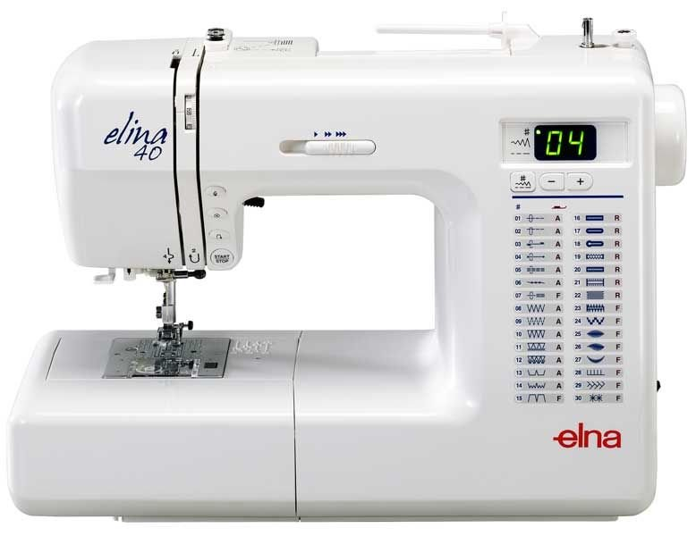 Elina 40SP Sewing Machine The Sewing Machine Company Delectable Elna 2000 Sewing Machine Price