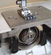 The Elna 1000 uses this central bobbin case. every few months it is necessary to oil it. Also give it a clean after each use. this will ensure long life