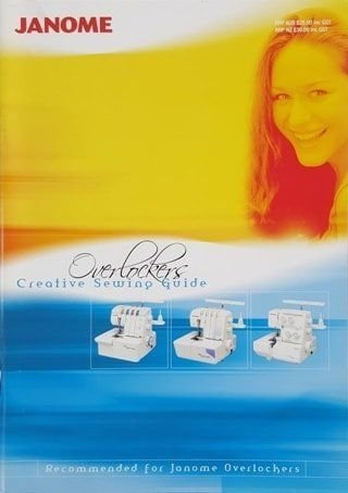 receive this creative sewing book valued at $29 as a bonus when you buy the Janome 644d overlocker