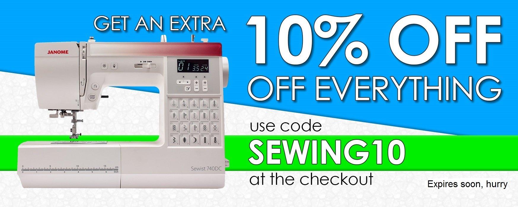 Elna 580 sewing machine - The Sewing Machine Company