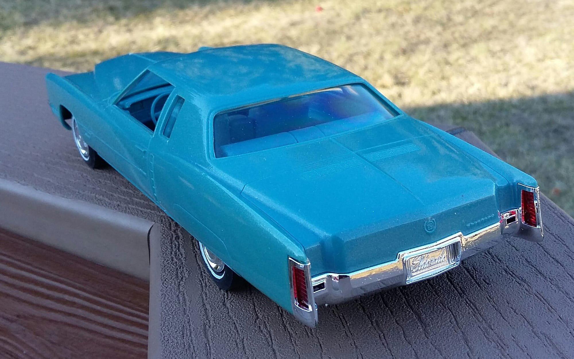 Obsolete Auto Dealer Showroom Collectibles Promos Toys 1971 El Dorado Headlight Wiring Harness Stock 8621971 Cadillac Eldorado Coupewith Free Us Shipping 48 States