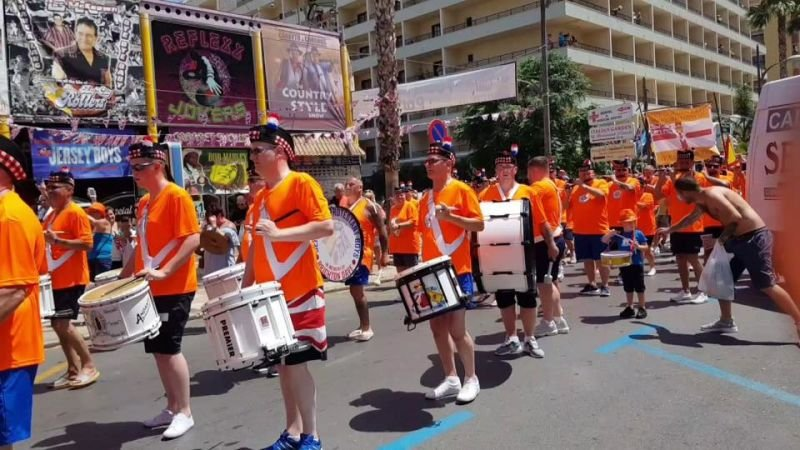 Parade of the Orange order