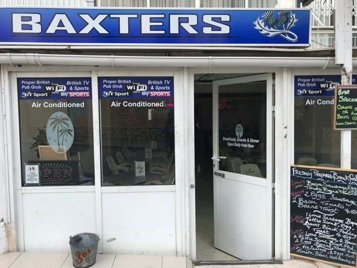 "Baxters formerly ""Castaways"" (old town)"