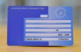 """European Health Insurance Card (EHIC) """" free card """""""