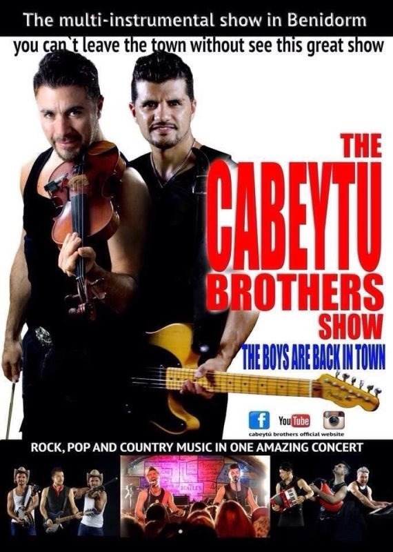 CABEYTU BROTHERS (show guide)