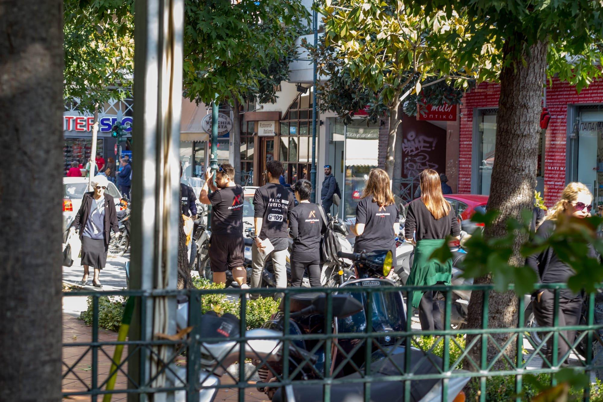 Walk For Freedom Larisa, A-Team Larisa
