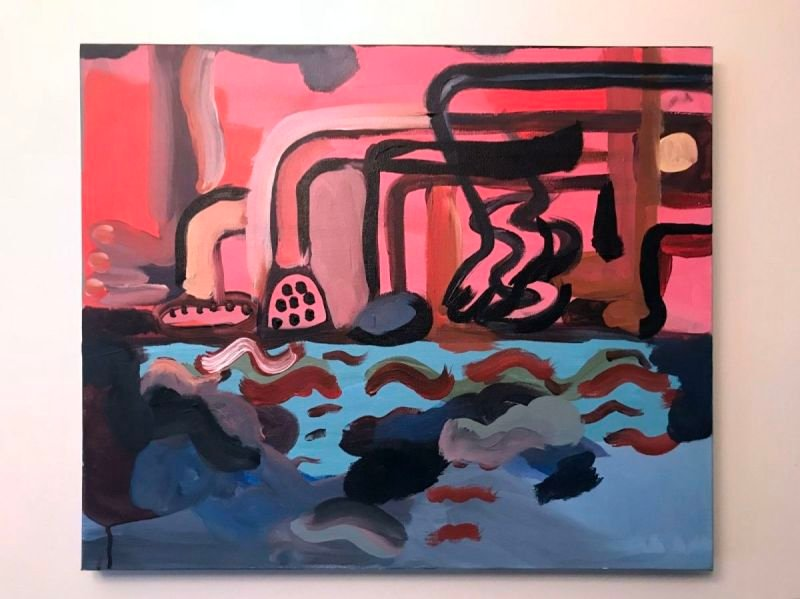 Philip Guston Homage