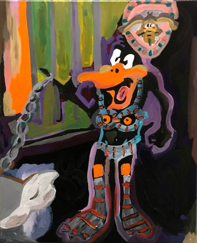 Dominatrix Daffy Duck