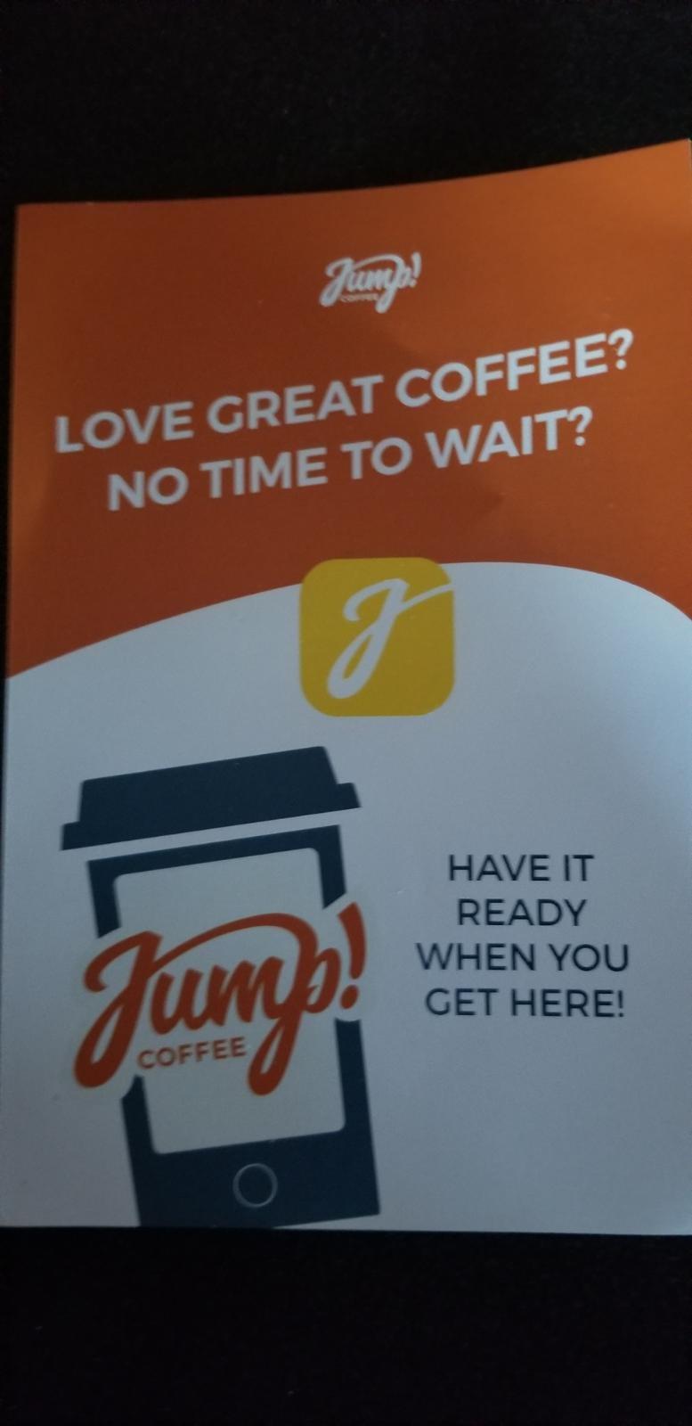 Jump coffee app