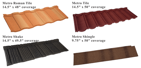 metro stone coated roofing