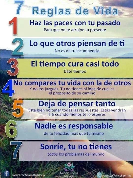 Reglas de la Vida