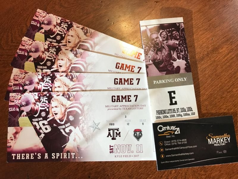 Aggie Football Tickets