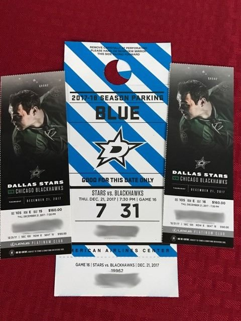 2 Dallas Stars tickets