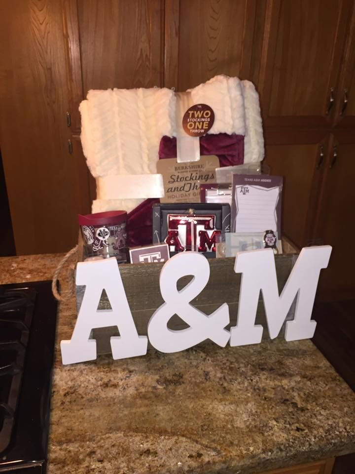 Aggie Basket w/ Basketball Tickets