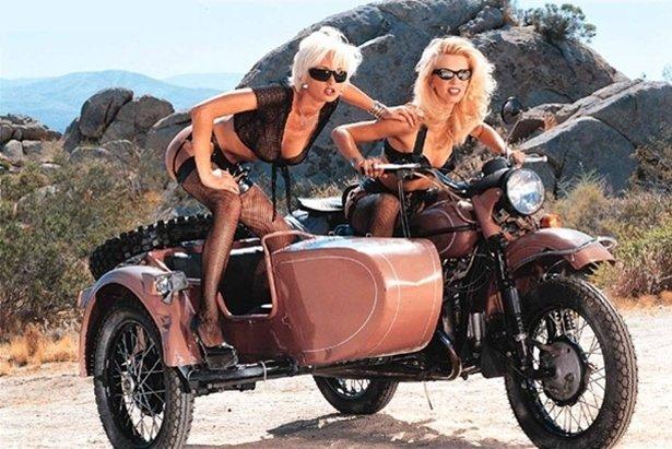 красивые девушки онлайн на мотоцикле урал трахает бабу этот