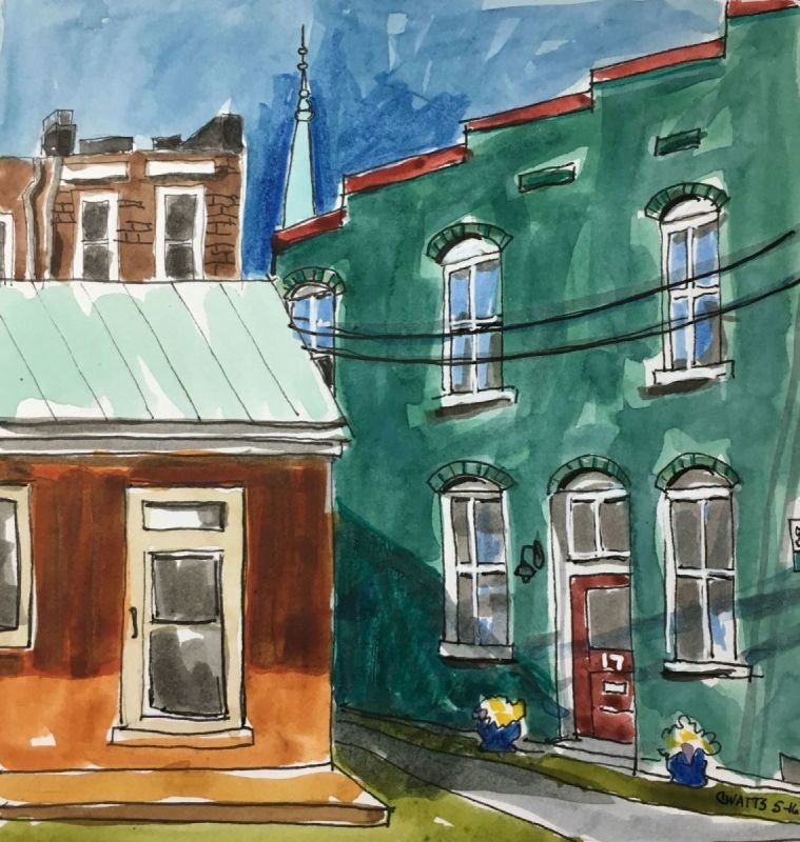 Barristers Row, Staunton, VA